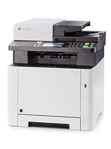 Kyocera Ecosys M5526cdw Impresora WiFi multifunción láser Color A4 | Impresora - Copiadora - Escáner - Fax | Soporte de Mobile Print para Smartphone y Tablet