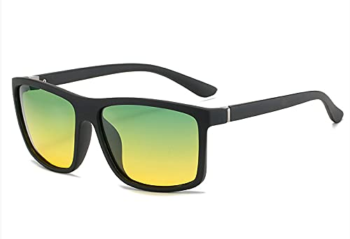 Gafas De Sol Polarizadas Para Hombres Tamaño medio Marco negro de arena