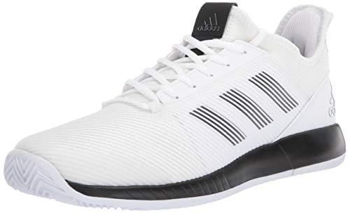 adidas Damen Adizero Defiant Bounce 2 Shoes Tennisschuh, FTWR White/Core Black/FTWR Weiß, 44 EU