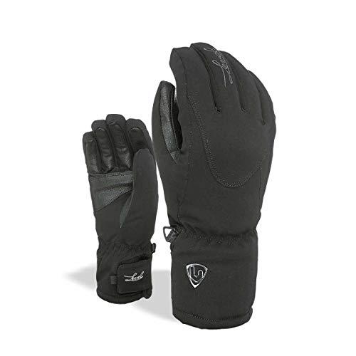 Level Damen Alpine Handschuhe, Black, 7,5
