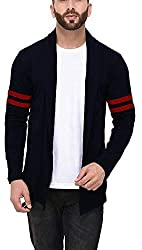 Veirdo Mens Cotton Regular Fit Cardigan