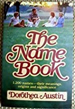 The Name Book: 1,200 Names -- Their Meanings, Origins and Significance