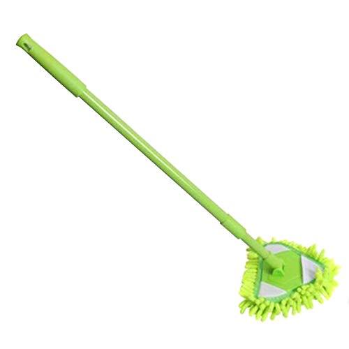 KUYG 180 Grad Drehbar Einstellbar Dreieckiger Reinigungsmopp Wandbürste Bodenwischer & Mopps Zuhause sauber Werkzeug