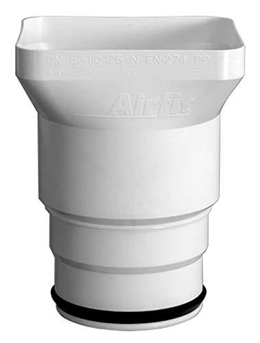 Trichtersiphon Airfit Plus DN 50/110/125 - KS-weiß