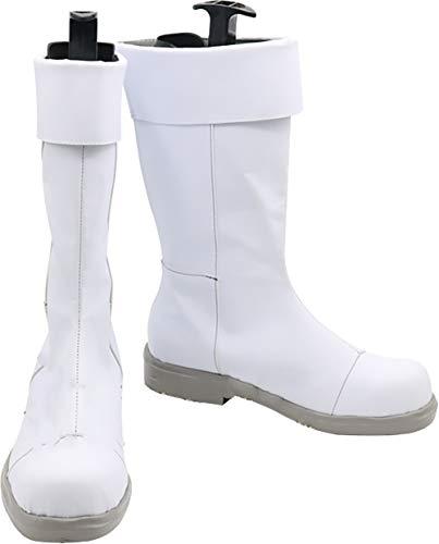 GSFDHDJS Cosplay Stiefel Schuhe for My Hero Academia Todoroki Shoto White