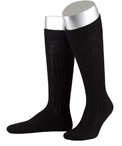ORIGINAL BUNDESWEHR SOCKE/STRUMPF PLÜSCHSOHLE BW WINTER SOCKEN STRÜMPFE MERINO, Größe:40/41, Modell-Typ:Strumpf (lang), Farbe:Schwarz