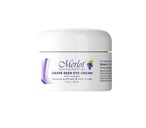 Merlot Eye-Cream | Made with Grape Seed Extract | Anti-Wrinkle| REDUCES puffiness | REDUCES...