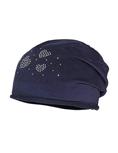 maximo Mädchen Jerseymütze Mütze, Blau (Navy 48), (Herstellergröße: 51/53)