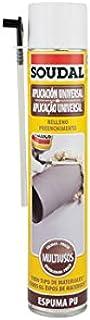 comprar comparacion Soudal 22115797 - Espuma Poliuret.750Ml Manual 22115797