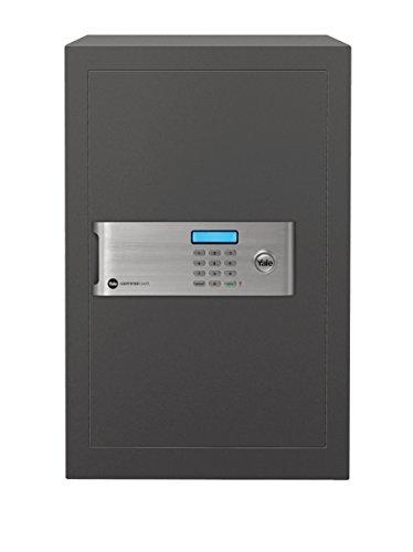 YALE YSM/520/EG1 Cassaforte da Mobile Professional-Certificata 520, Nero, 350 x 520 x 360 mm