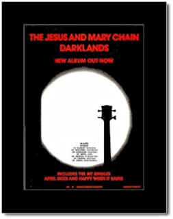 JESUS AND MARY CHAIN - Darklands Matted Mini Poster - 28.5x21cm
