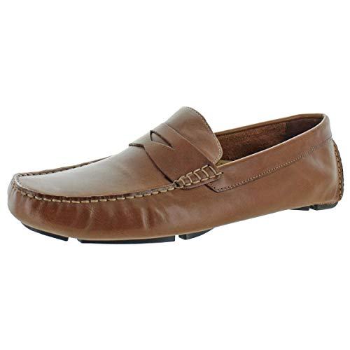 Cole Haan Men's Howland Penny Loafer, Saddle Tan, 9.5 M US