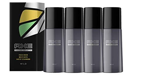 Axe Eau de Toilette Wild für Herren für den Frische-Boost, 4er Pack(4 x 50 ml)