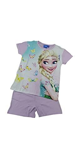 Generico Pijama para niño y niña, de algodón, con personajes de varios modelos 46560 Lila 6 años