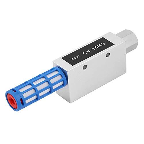 Eyector de vacío CV-15HS de alta calidad, eyector de vacío, resistente al desgaste para ventilación de aire grande 63L / min
