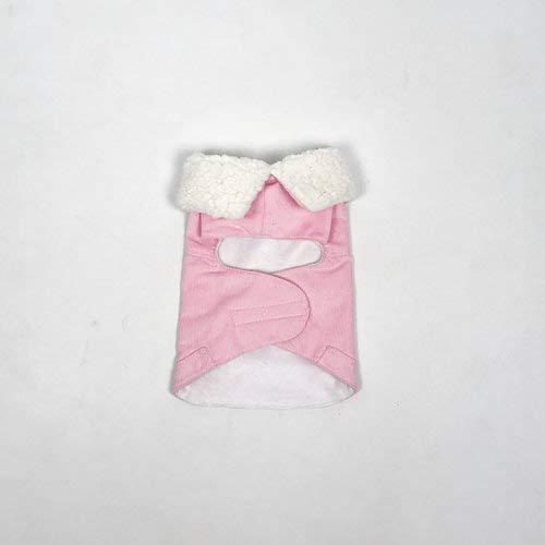 Miss Teddy BABY PINK CORD GILET MAAT XS