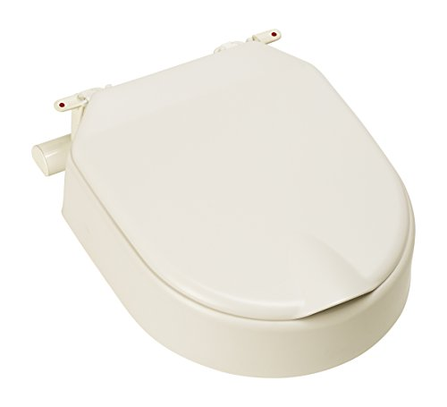 Etac Hi Loo fest erhöhter Toilettensitz mit Deckel 10cm/10,2cm