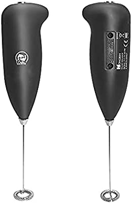 Electric Milk Frother Coffee Frother Handheld Mixer Mini Electric Whisk for Coffee, Latte, Cappuccino, Hot Chocolate, Durable Mini Drink