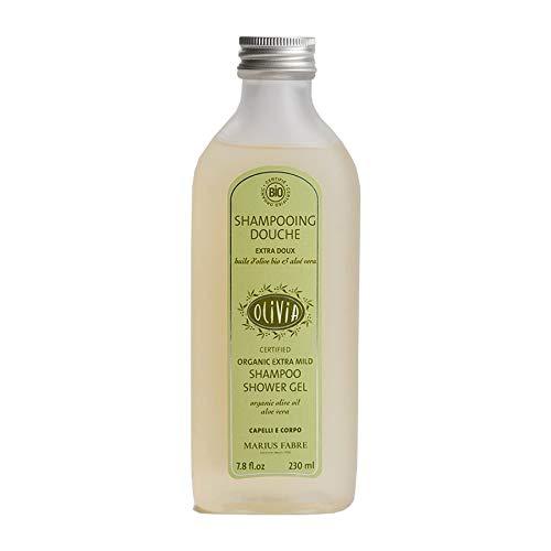 OLIVIA Shampooing Douche Hypoallergénique huile d'olive bio e aloé vera - 230 ml – ECOCERT