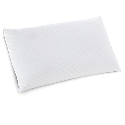 Classic Brands Embrace Firm Latex Pillow, 100 Percent Ventilated Latex Foam, Queen Size