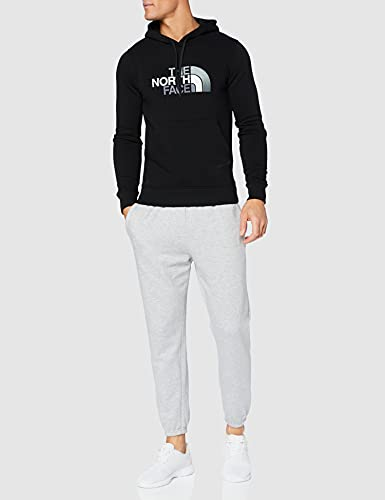 The North Face Drew Peak Men's Outdoor Hooded Pullover available in Tnf Black/Tnf Black - Large