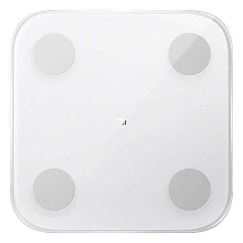 Kemite 34234_Sml Xiaomi MI Escala de grasa corporal inteligente con 2 bluetooth