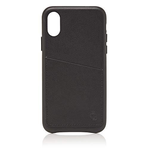 Castelijn & Beerens | Nappa X | Back Cover Wallet iPhone X + XS | zwart