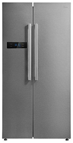 Midea KS 6.2 Side-by-Side/A++/178.8 cm/329 kWh/Jahr/335 L Kühlteil/175 L Gefrierteil/Inverter/Total No Frost/Inox