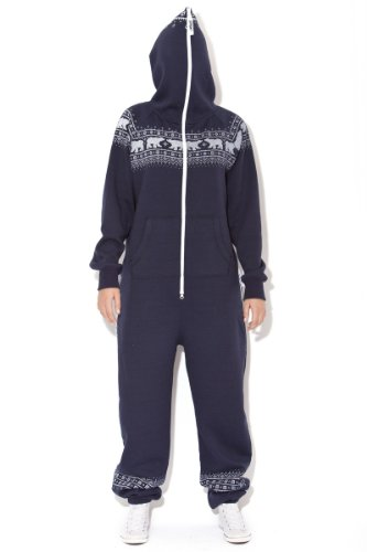 Jumpin Erwachsene Jumpsuit Original, Norwegian Bear Navy, Dunkelblau - 6