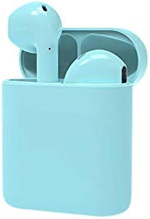 TWS Auricularbluetooth I21 Mini Auriculares Inalámbricos 5.0 con Compartimiento De Carga Toque La Ventana Emergente I21 5.0 Verde Menta