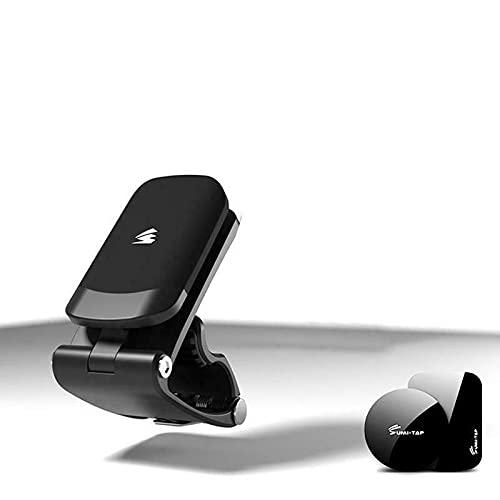 OKOUNOKO Soporte Magnético para Teléfono con Clip, Universal Soporte Teléfono Iman, Soporte Movil Coche Magnético