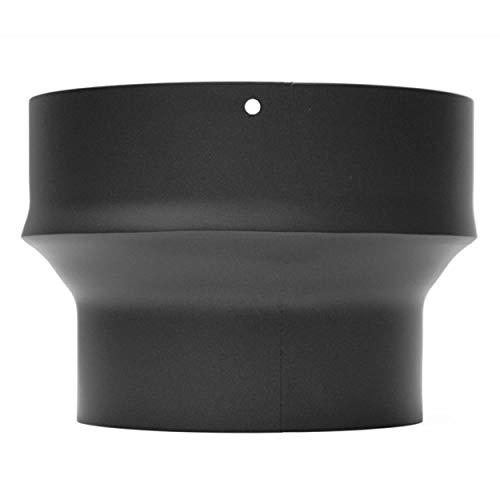 raik SH013-021-sw Rauchrohr/Ofenrohr Erweiterung 150mm -200mm schwarz