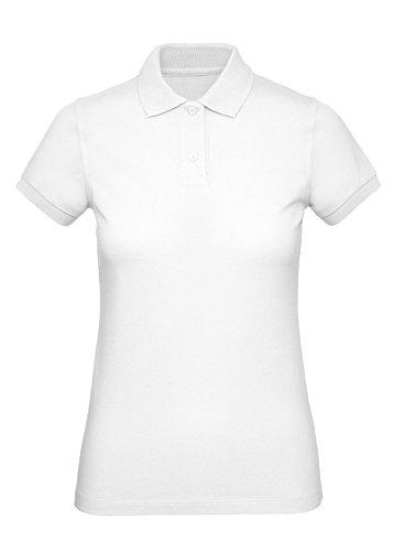 Memouu Damen Poloshirt M440 White L