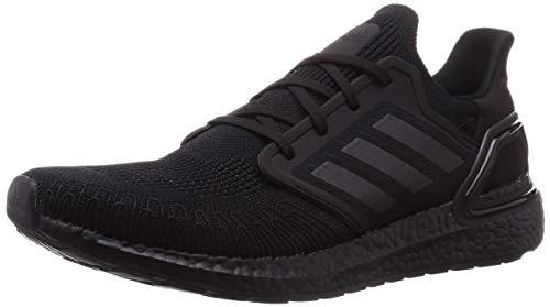 adidas Ultraboost 20, Zapatillas de Running Hombre, NEGBÁS/NEGBÁS/Rojsol, 42 EU