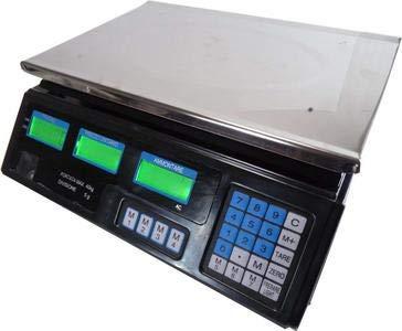 BILANCIA ELETTRONICA DIGITALE PROFESSIONALE MAX 40 KG CON DISPLAY NUOVO
