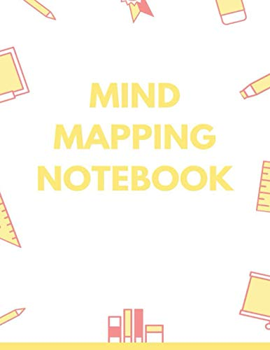 Mind Mapping Notebook: Mind Mapping Workbook | Mind Map Templates for Improved Memory and Effective Note-taking