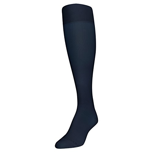 Gold Toe Women's Firm Compression Support Knee Highs, 1 Pair, navy, Shoe Size: 6-9