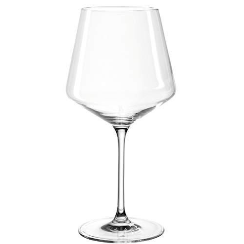 Leonardo 014791 Set 6 Bourgogne Puccini, Verre, Transparent