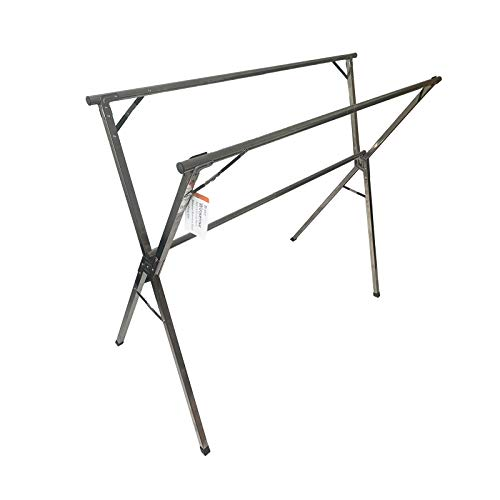 Winsense Portable Drying Rack ClothingHeavy Duty Stainless Steel Clothes Drying Racks for Laundry Foldable Collapsible Garments Rack