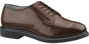 Bates Lites Brown Leather Oxford Men 10.5 Brown