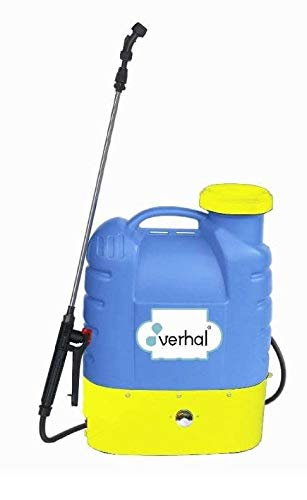 Todo Cultivo Mochila pulverizador eléctrico 16 litros con batería Recargable 12v. Marca Verhal. Óptima aplicación de tratamientos y herbicidas.