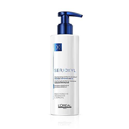 L'Oréal Professionnel Serioxyl Champú Aclarador y Densificante para Cabello Teñido y Debilitado - 250 ml