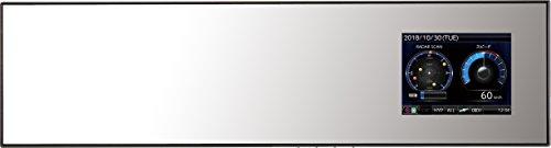 コムテック ミラー型GPSレーダー探知機 ZERO 505M OBD2対応 無料データ更新 移動式オービス/ゾーン30対応  ...