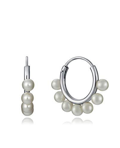 Pendientes Viceroy Mujer Aros Perlas 4095E000-68