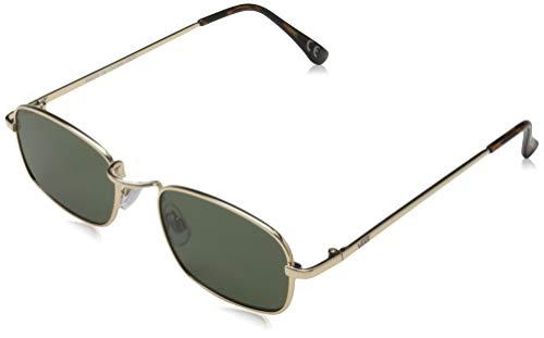Vans Four-Square Sunglasses Gafas, Gold, Talla Única para Mujer