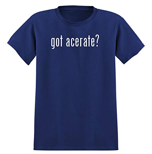 got acerate? - Men's Soft Graphic T-Shirt Tee, Blue, X-Large