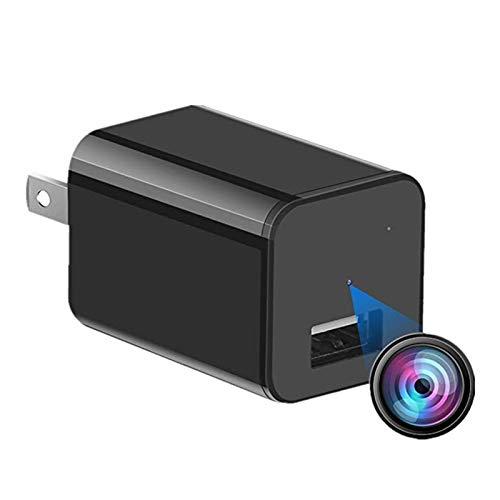 Mini Charger Hidden Camera HD 1080P Motion Detection USB Wall Charger Camera Plug Camera Loop Recording Nanny Cam Home Security Camera Housekeeper