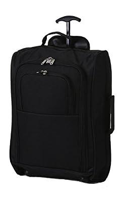 Sac Trolley de Cabine avec étui Bagages Roues à main sacs de vol de costume pour Aigle Azur, Air France, Easyjet, Ryanair, Airlinair, Jet2 et beaucoup d'autres compagnies aériennes ou Voyage