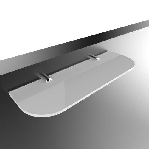 Sicherheitsregal 300 mm x 100 mm für Bad, Schlafzimmer, Büro, offen weiß