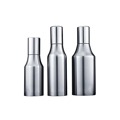 Hanpiyigyh Aceitera, Dispensador de Aceite de Oliva, Botella de Aceite de Cocina Botella de Aceite de Oliva a Prueba de Fugas de Acero Inoxidable (Size : Small)